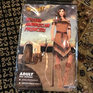 NWT Native American Princess size small/med