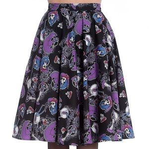 Day of the Dead Swing Skirt La Catrina