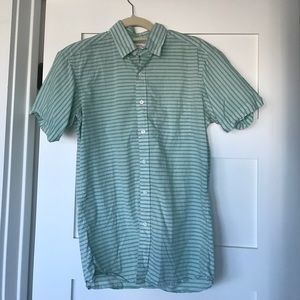 Hamilton shirt company short sleeve button down