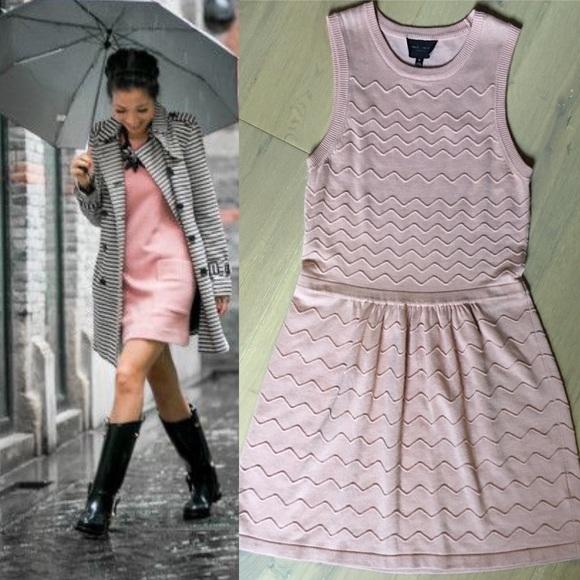 41367282e18 ... Pale Pink Sweater Dress. M 59d81060713fde0834025635