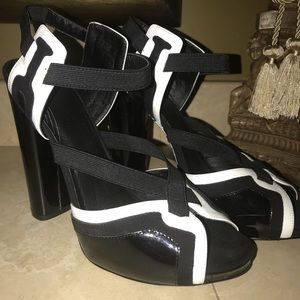 Trouve strappy heels