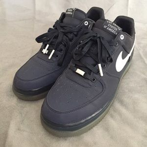 separation shoes bc6a0 9dec8 ... Blue Nike Air Force 1 Low Max Air US Olympic Gold Medal ...
