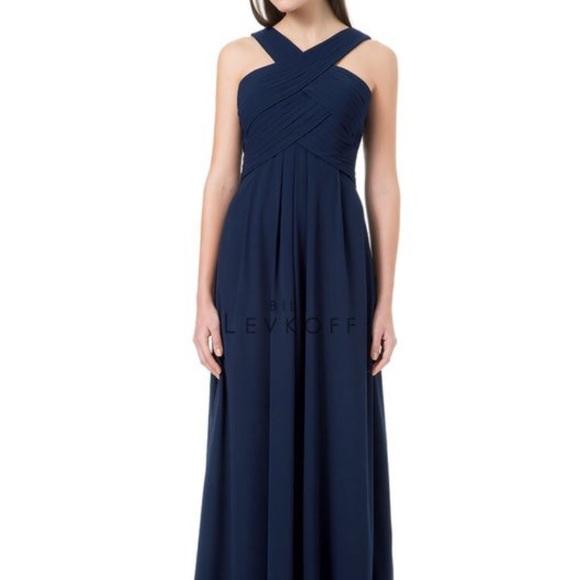 966814b41c7 Bill Levkoff style 1218 Bridesmaid Gown