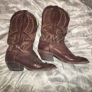 Hondo Boots Shoes - Size 10 men's cowboy boots.