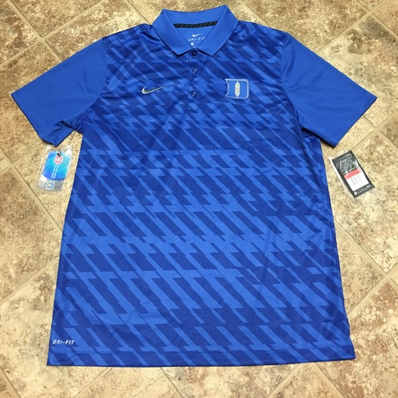 38d904f0 Nike Shirts | Drifit Golf Polo Duke University New Wtags | Poshmark