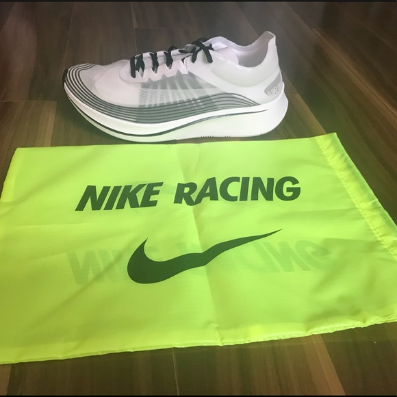 4b310c2dd0021 Nike Lab Zoom Fly SP Breaking 2 White Black Oreo