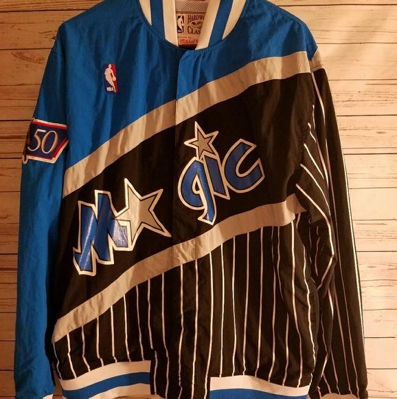 833ee7c5c89ac M N Throwback Orlando Magic WarmUp Jacket. M 59d81ad8bf6df58a79027b65