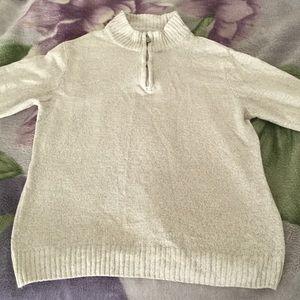 Gorgeous zip neck sweater!