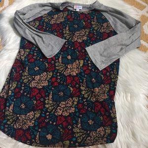 small lularoe randy shirt size S