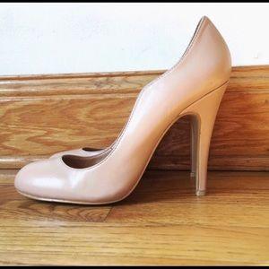 Shoes - Kelsi Dagger Nude Lillian Retro Pump