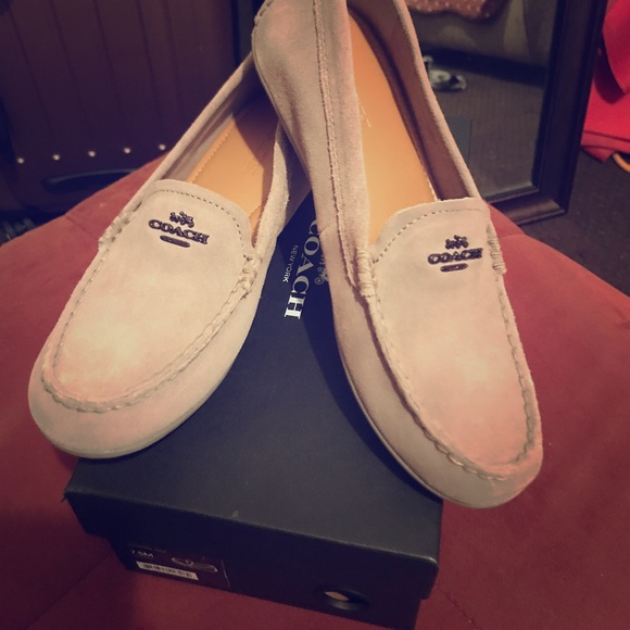 eaa8976bc32 Coach Shoes - Coach Mary lock up loafers