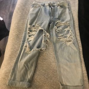 One Teaspoon Boyfriend Distressed Jeans