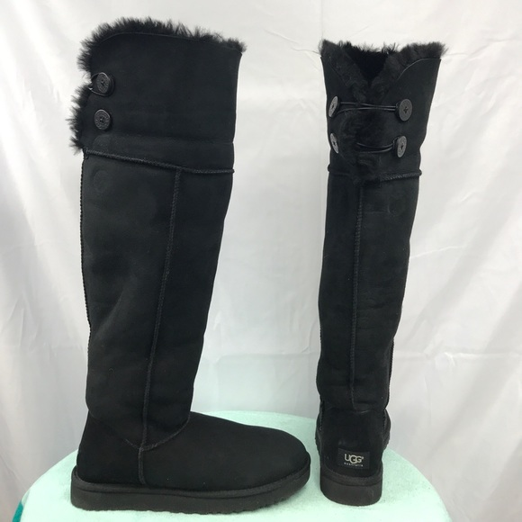8537cd15aa3 Australia UGG Bailey Button Over the Knee Boots
