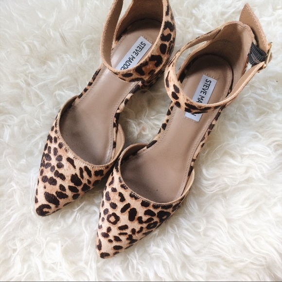 most popular cost charm autumn shoes Steve Madden Shoes | Dainna Leopard Leather Heels | Poshmark