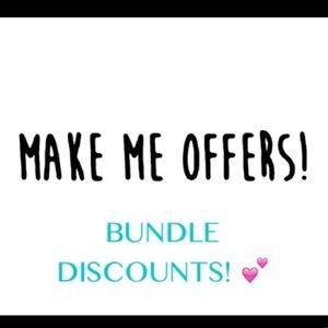 Discount Bundles!!!