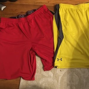 Under Armor Basketball Shorts- Bundle