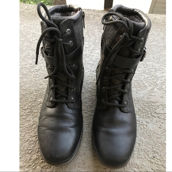 Ugg Kesey black boots