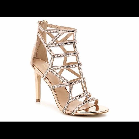 d419c53cb9ce Aldo Shoes - Aldo Rose Gold Fidenza Sandal