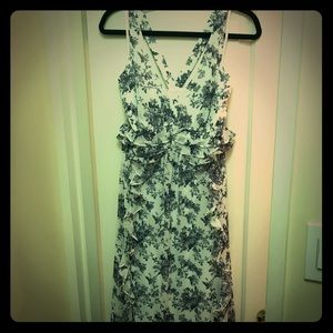 Jessica Simpson ruffled maxi dress never worn