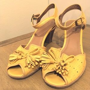 Anthropologie Vintage Heels