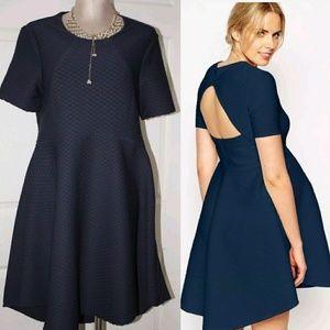 ASOS Maternity Skater Dress Size 12 Hi Low Dress
