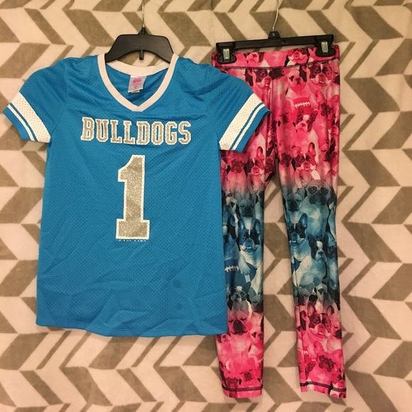 Justice Other - Girls Justice leggings and Shirt Set