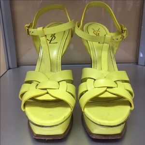 YSL Yves Saint Laurent Tribute Sandals