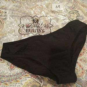 Other - Solid Black Swim Bottoms