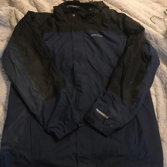 d224a133855 Eddie Bauer weather edge jacket with liner
