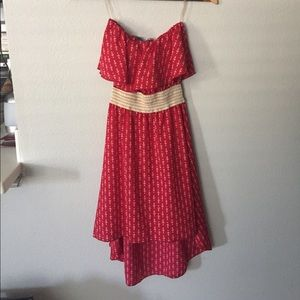 Dresses & Skirts - Red anchor dress
