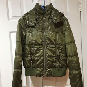 Short jacket DARK GREEN