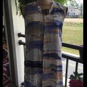 Simply Vera Wang Waterfall Dress