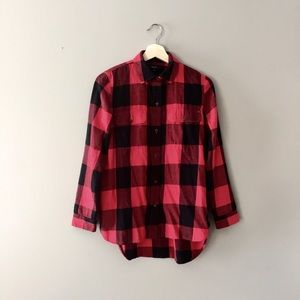 Madewell Plaid Shirt XS