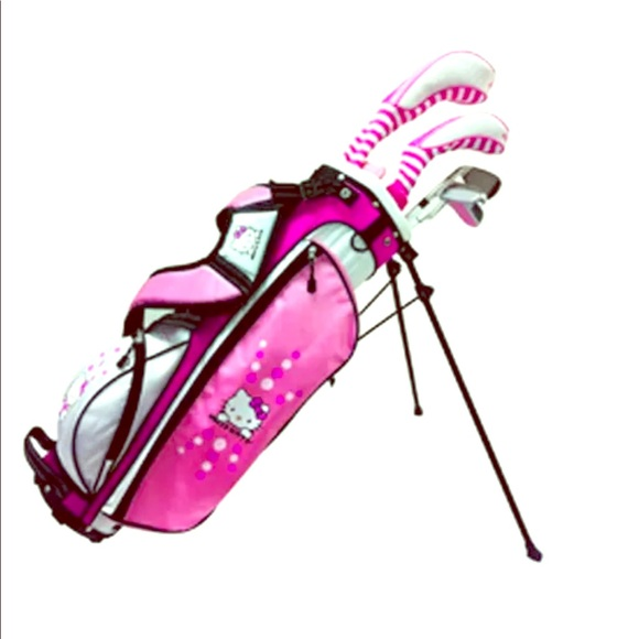 Other Sale Hello Kitty Junior Golf Clubs 912y Wbag Poshmark