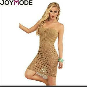 Other - Beach Cover-up Hollow Crochet Lace Dress
