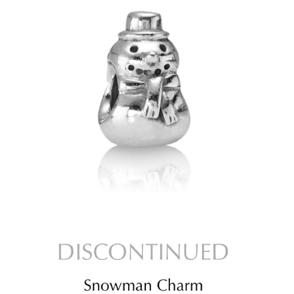 82232e384 Pandora snowman charm. M_59d8451836d59489bd03400e