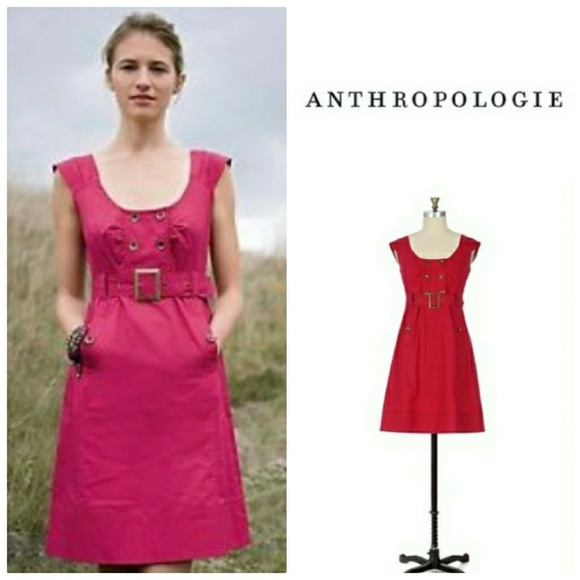 4c70b54bec4 Anthropologie Dresses   Skirts - Anthropologie Maeve Overcast Dress red 8