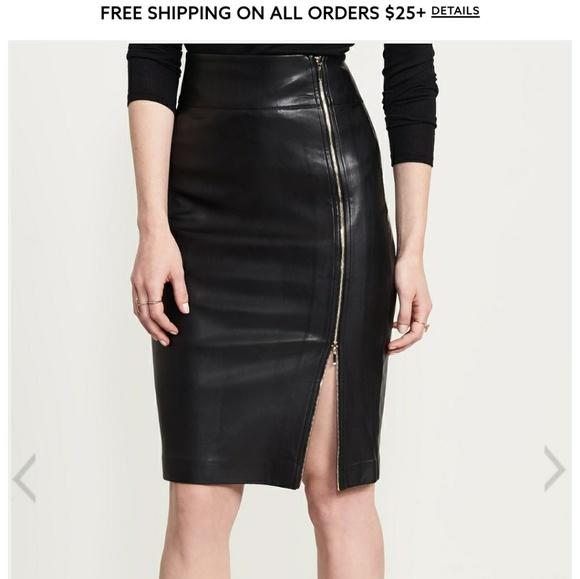 1ebdba86f dynamite Skirts | Leather Pencil Skirt | Poshmark