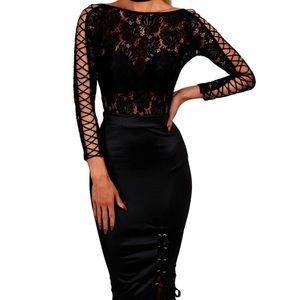 Tops - Lace bodysuit