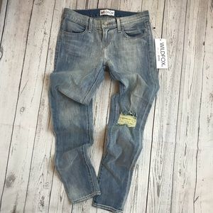 """Wildfox Skinny Jeans """" The Carmen """" low rise"""