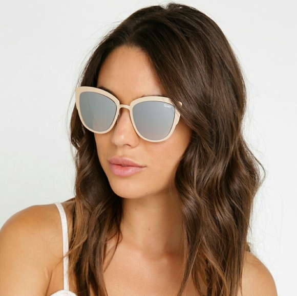 8021f198e75e7 Quay Australia Super Girl Gold Sunglasses