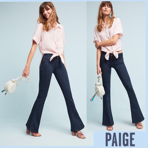 Paige Jeans Jeans Nwt Paige Lou Lou Midrise Flare Petite Poshmark