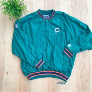 Vintage starter pro line Miami dolphins pullover