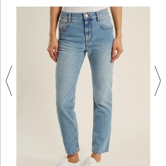 1fcdd4dd2e19 Isabel Marant Denim - Isabel marant etoile high waisted cliff jeans