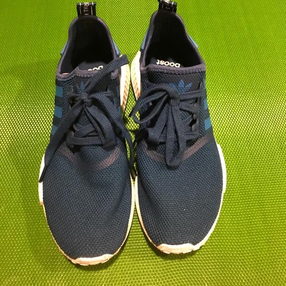le adidas blu nmd mens 75 donne 9 poshmark