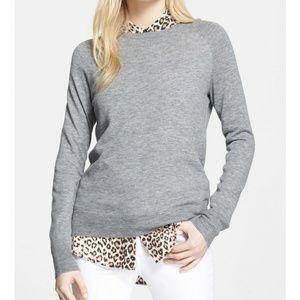 Equipment wool cashmere sloane lighweight sweater