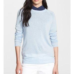 Equipment wool cashmere sloane lightweight sweater