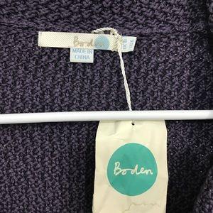 Boden Jackets & Coats - Boden • Purple Knit Jacket