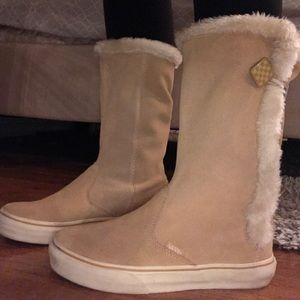 Vans Shoes | Vans Fur Boots | Poshmark
