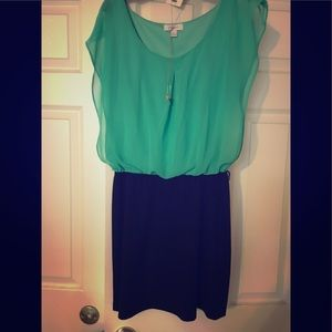 Green and black dress size large by Candies
